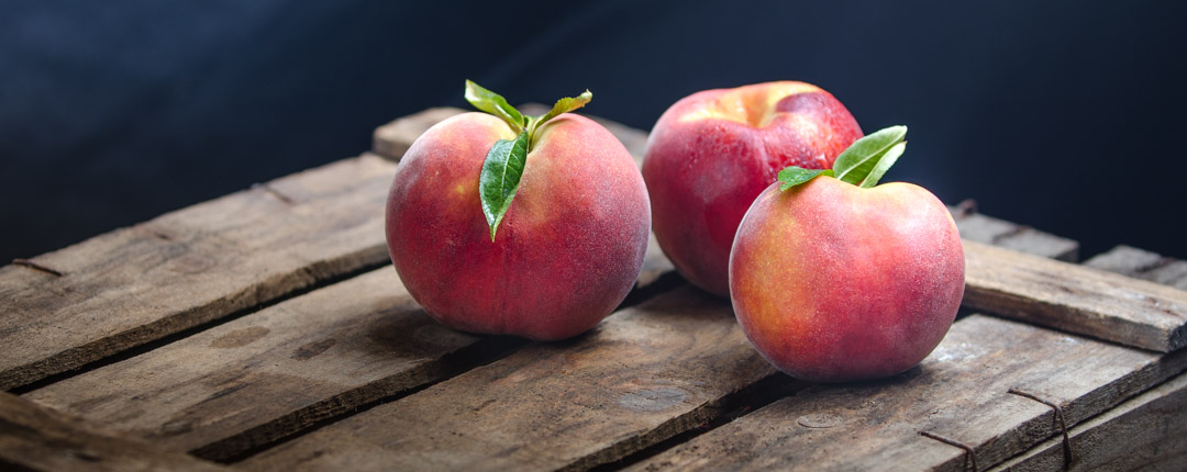Wide range of production and marketing of peaches