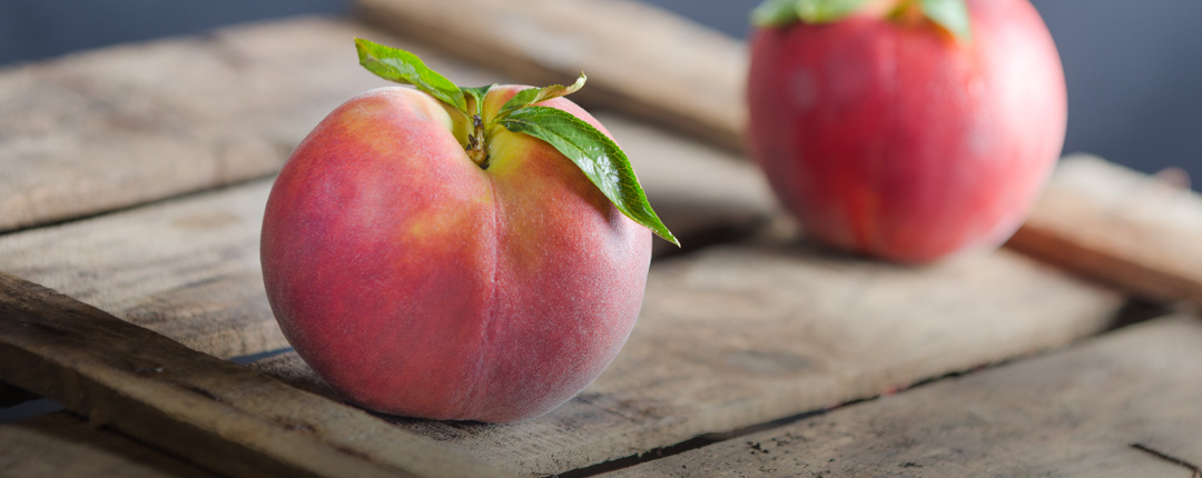Peaches are carefully selected for their freshness, naturalness and intense flavour